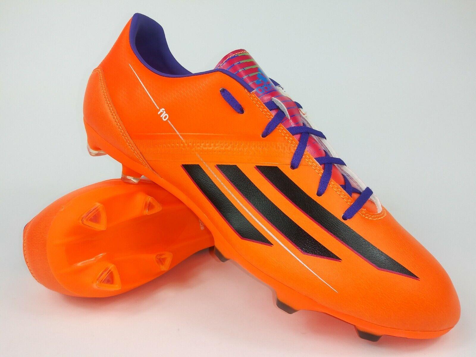 Adidas señores raramente f10 TRX FG f32693 naranja negros fútbol galerías