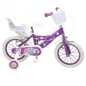14 zoll kinderfahrrad fahrrad prinzessin sofia m dchen 4 5. Black Bedroom Furniture Sets. Home Design Ideas