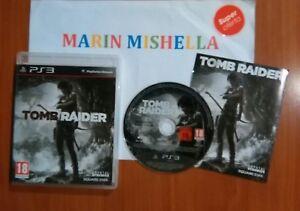 Tomb-Raider-ps3-Ganador-de-44-premios-En-Perfecto-estado-Pal-Espana