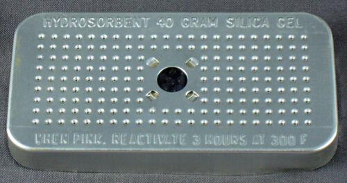 Silica Gel 40 Gram Hydrosorbent Desiccant Aluminum Canister 4 Pack