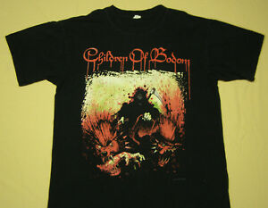 Finland  melodic death metal band T/_shirt-SIZES:S to 6XL CHILDREN OF BODOM