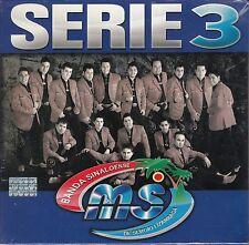 Banda MS Serie 3  3CD Caja De Carton New Nuevo Sealed