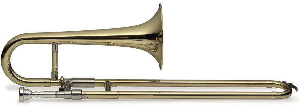 SWING TR-SL-201 B-Zugtrompete   Sopranposaune lackiert, Bohrung 11,50mm