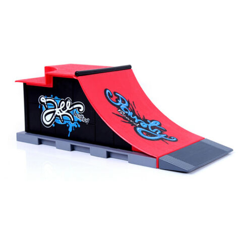 Plastic Mini Skateboard Ramp Accessories set 23.5x10x9cm Creative Funny Toys
