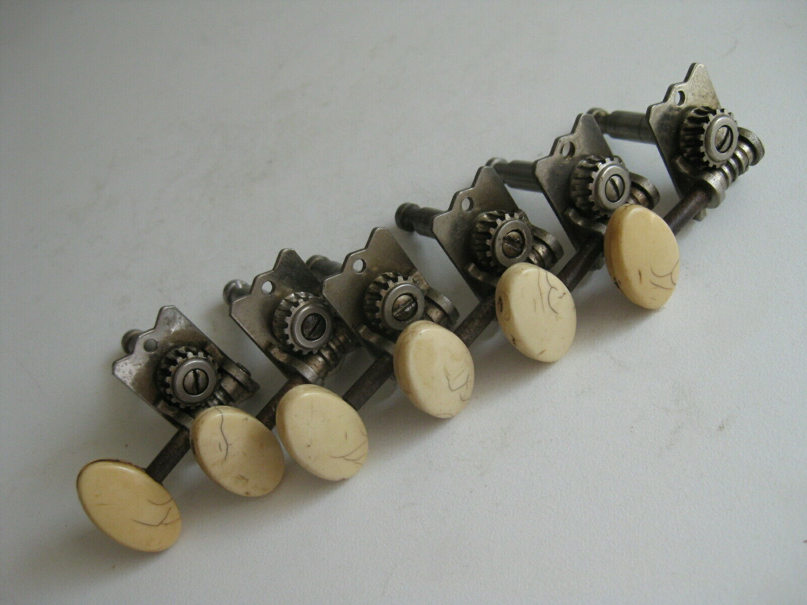 Vintage Guild Gretsch Guitar Inline Set of 6 Tuners for Project