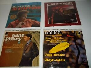Lot-of-20-Still-Sealed-LPs-Assorted-Musical-Styles-Free-shipping