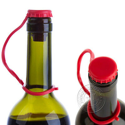 Kitchen Cooking Tools Practical Silicone Vacuum Wine Bottle Cap Stopper Gadgets