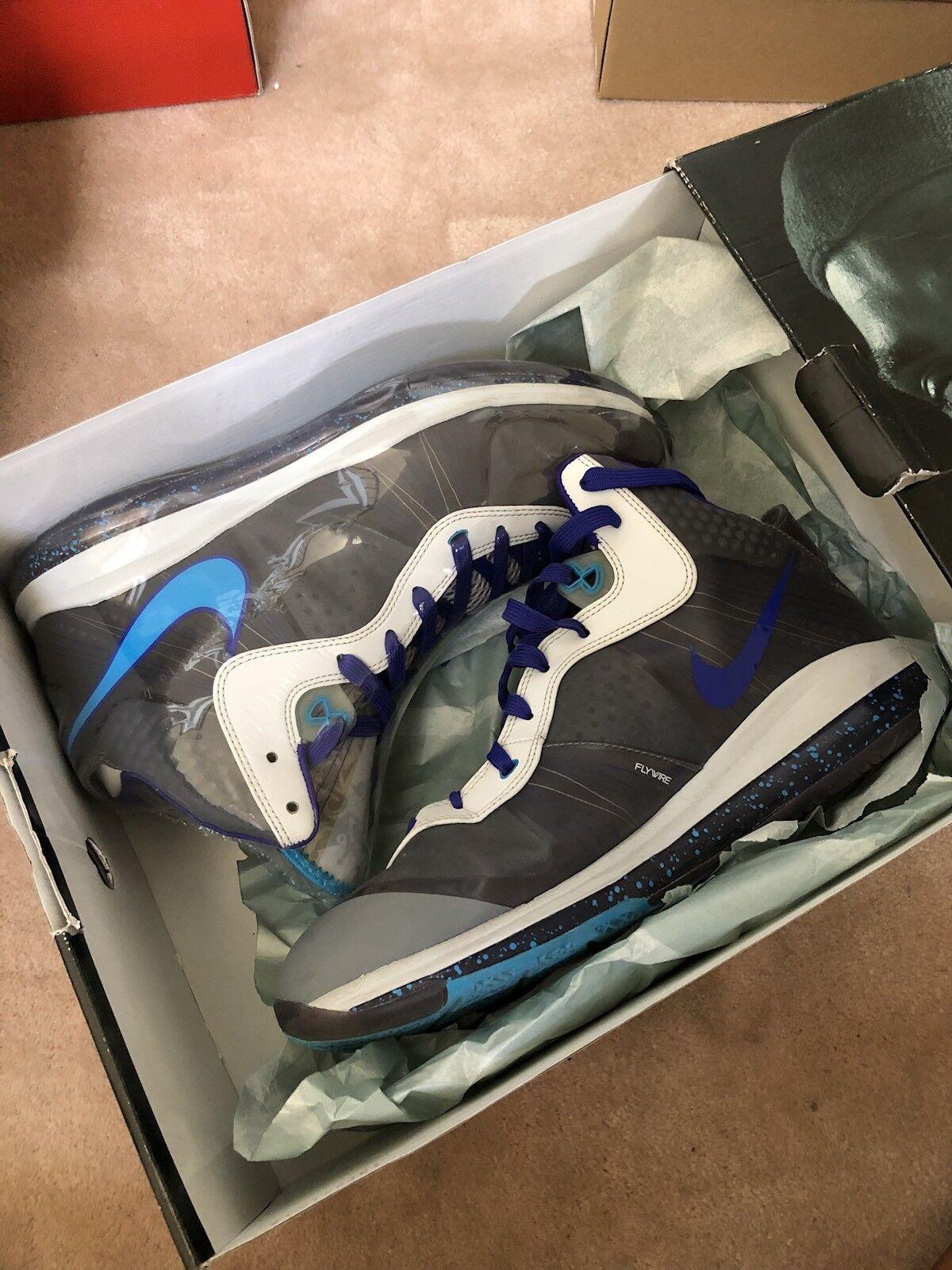 Nike lebron 8 v / 2 vespe south beach lakers