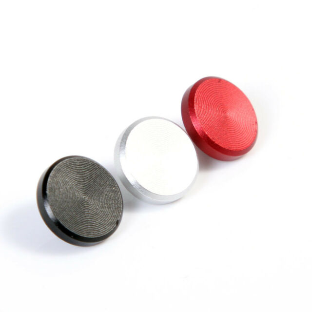 1 piece 10mm Red Black Silver Random Metal Flat Camera Shutter Release Button