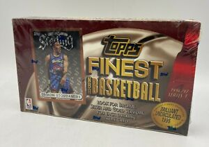 1996-97 Topps Finest Basketball Series 1 Factory Sealed Box Kobe Bryant RC Yr