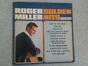 Image is loading Roger-Miller-Golden-Hits-Record-LP-SRS-67073