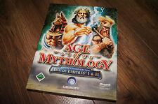 Age of mythology empires I & II pc old game  cd disc 2x cd-rom 2007