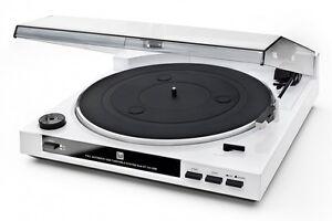 Dual-DT-210-Weiss-Schallplattenspieler-mit-Magnet-Tonabnehmer-System-Automatik