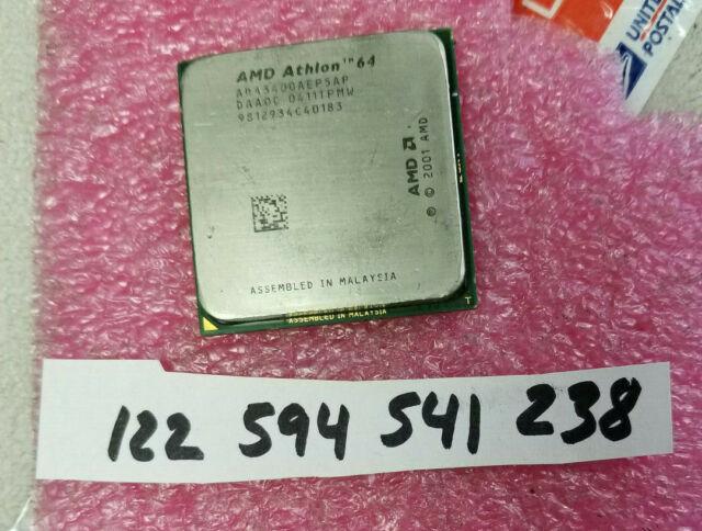 Amd Athlon 64 3400 2 2ghz Ada3400aep5ap Processor For Sale Online Ebay