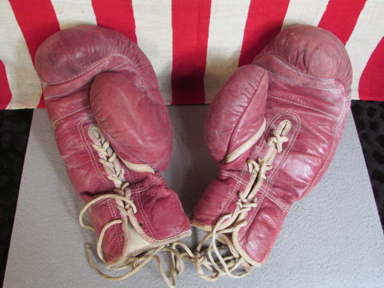 Vintage Weiter Geschwindigkeit Leder Boxen Schlagen Geschwindigkeit Weiter Tasche Marathon Rawlings 1af1aa