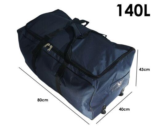 Talla XXL Bolsa de viaje deportes maleta trolley grande 140L con ruedas