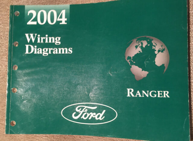 2004 Ford Ranger Truck Electrical Wiring Diagram Service Shop Repair Manual