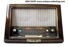 SABA TUBERADIO (röhrenradio). MEERSBURG 6-3D AUTOMATIC. Restored. SEE VIDEO. TOP