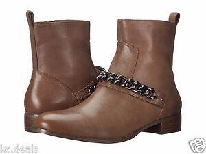 Womens Boots COACH Adella Grey Burnish Calf
