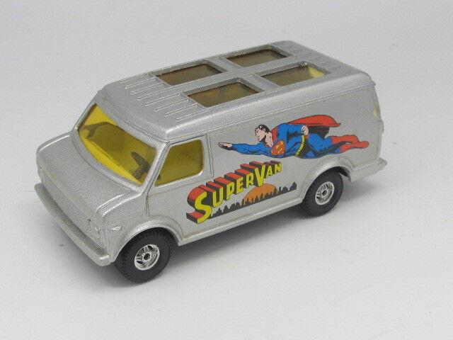 CORGI 435 SUPERMAN CHEVROLET SUPERVAN with opening Rear doors ALL ALL ALL ORIGINAL d910df
