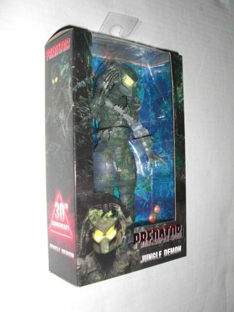 "Jungle Demon Predator Action Figure Doll Toy 30th Anniversary Alien Hunter 8/"""