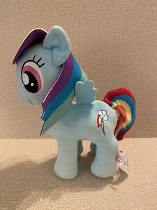 "My Little Pony Rainbow Dash Stuffed Animal Plush Blue 9"" MLP Lightning Cloud"