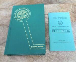 1973 THE ORIGIN & DEVELOPMENT OF THE RAOB BOOK & RULE BOOK (17)