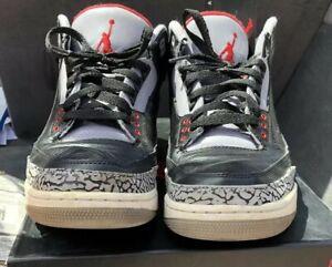 sports shoes 20543 41906 Details about Nike Air Jordan Retro 3 Black Cement 2011 sz 11