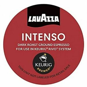 Lavazza Espresso Intenso Coffee 18 to 108 Count Keurig Rivo Pods Pick Any Size