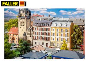 Faller-N-232388-2-Sanierte-Maisons-de-Ville-Neuf-Emballage-D-039-Origine