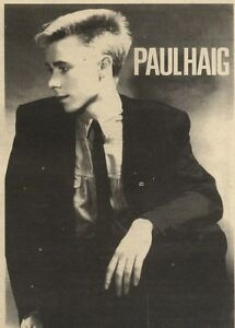 9-7-83PN41-PICTURE-PAUL-HAIG-ADVERTISING-SINGLE-NEVER-GIVE-UP-7X5