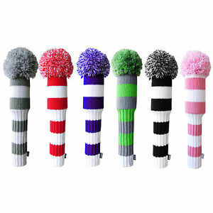 Egigo-Pom-Pom-Headcover-Wool-Knitted-Premium-Golf-Club-Head-cover
