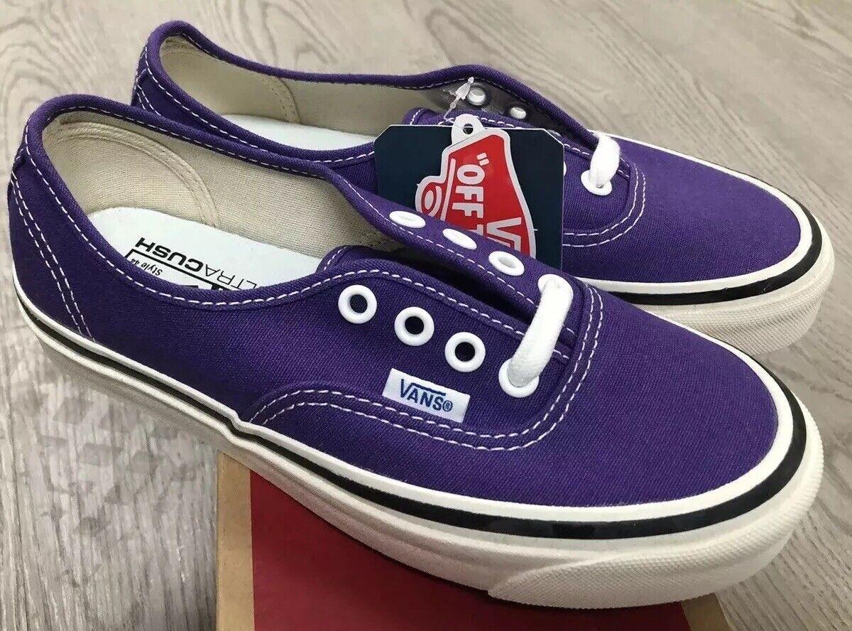Vans Authentic 44 Dx Anaheim Fábrica Og Calabozo púrpura Talla Hombre 5.5   Mujer 7