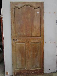 Porte Communication Chantourné Louis Xv Bois Ancienne Largeur 82 Ht