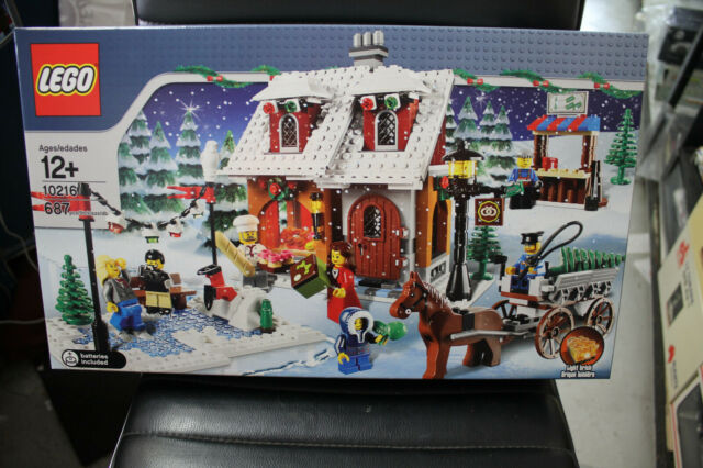 LEGO CREATOR WINTER VILLAGE BAKERY ( CHRISTMAS ) #10216  BRAND NEW UNOPENED