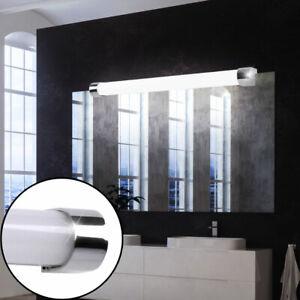 2 x LED Wand Leuchten Bade-Zimmer Chrom Bilder Beleuchtung Spiegel Bad Lampen