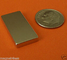 4 Piece 1x12x18 Inch Rare Earth Neodymium Block Magnet Grade N50