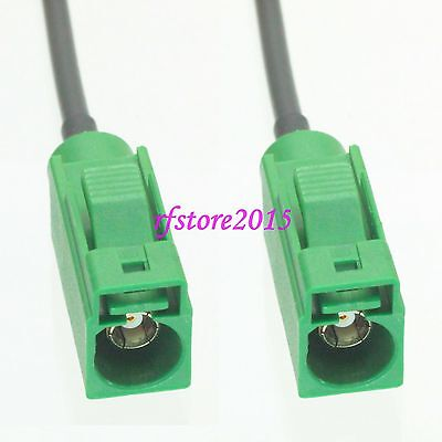 Cable RG174 6inch Fakra SMB E 6002 female jack RF Pigtail Jumper
