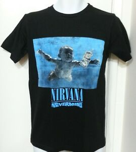 nirvana nevermind black graphic t shirt ebay. Black Bedroom Furniture Sets. Home Design Ideas
