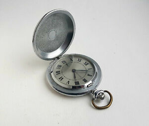 Vintage-Soviet-mechanical-pocket-watch-MOLNIJA-18-jew-USSR