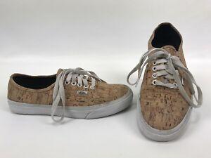 0b86f1b66d Image is loading Vans-Classics-Cork-Low-Shoes-Waffle-Mens-8-