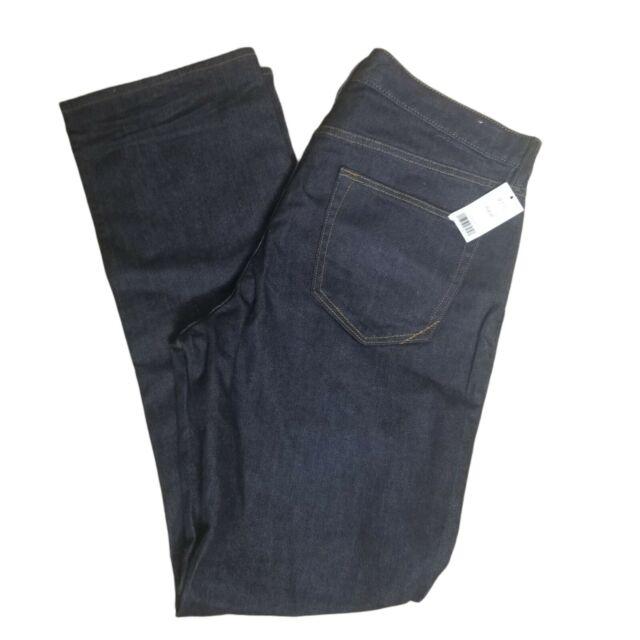 New Banana Republic Mens Slim Jean Size 35 X 32 Dark Denim MSRP $129