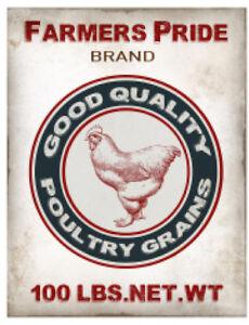Details about Vintage Image Chicken Poultry Grain Sack Label Furniture  Transfer Decals LAB441