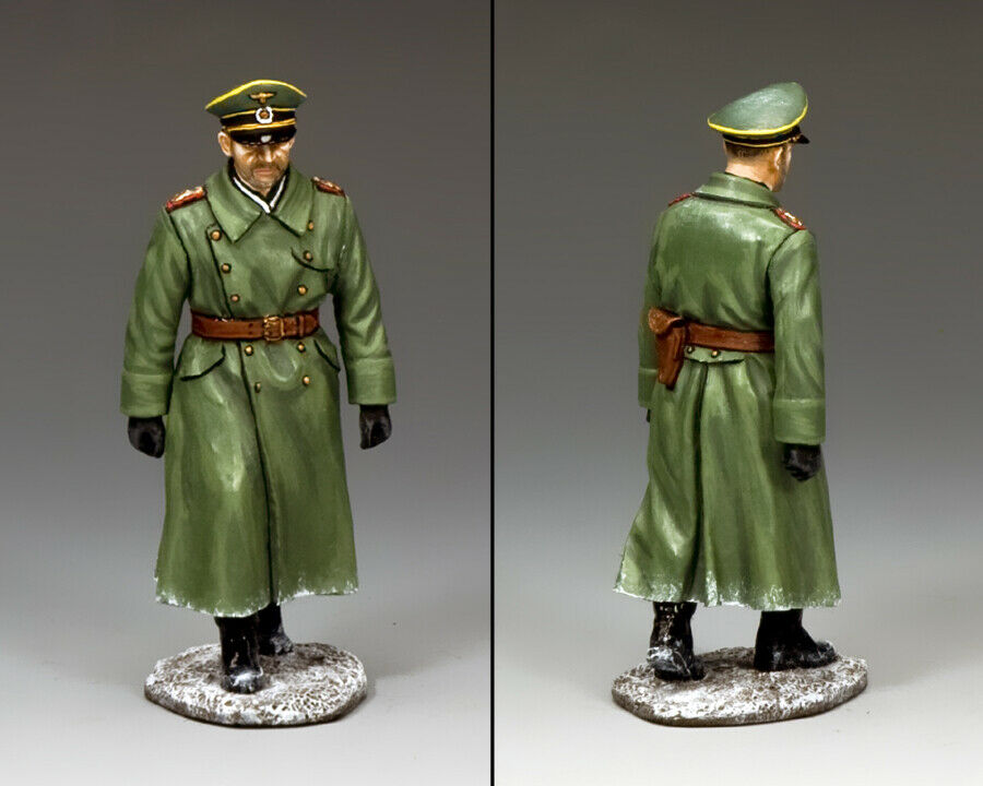 KING & COUNTRY WW2 GERMAN ARMY WH034 FIELD MARSHAL FRIEDRICH PAULUS MIB