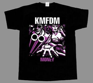 KMFDM-Money-NEW-BLACK-SHORT-LONG-SLEEVE-T-SHIRT