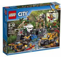 Lego City Jungle Exploration Site Jungle Explorers Set 60161