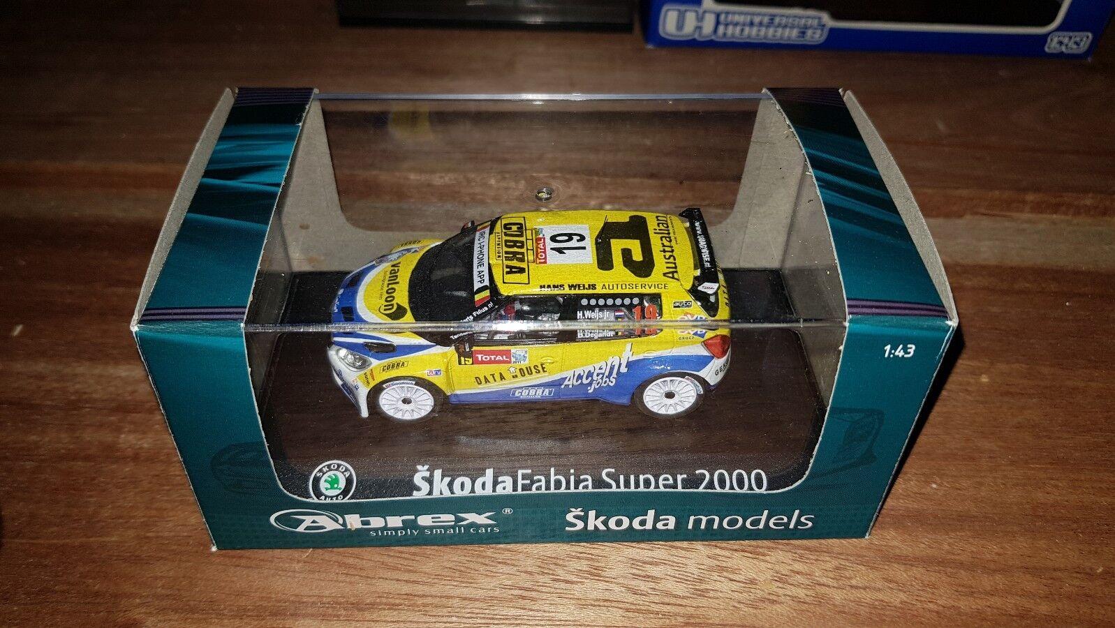 Abrex 1 43 Transkit Skoda Fabia S2000 Evo2