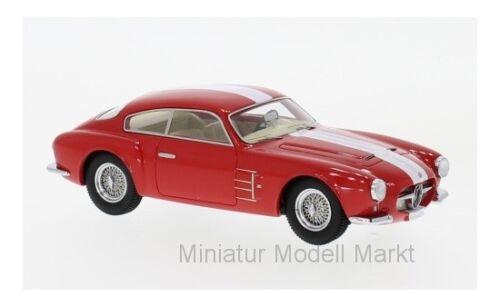 #45649 Neo Maserati a6g 2000 Zagato-rojo//blanco 1956-1:43