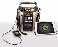 Battery Jump Starter Air Compressor Peak Portable Car Charger Booster Stanley