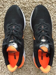 Nike-Renew-Run-Shoes-for-men-Sneakers-Size-13-New-amp-Authentic-Black-Orange